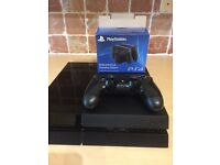 Playstation 4 console and controller with dualshock charging station