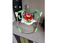 Rain forest fisher price jumperoo