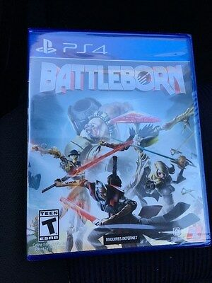 Battleborn (Sony PlayStation 4, 2016) BRAND NEW