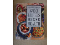 Great Recipes for Good Health, cooking book