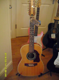 HOYER. A Hoyer 12 string in good playing condition. From 1960's. made in Germany. Vintage.