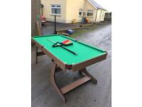 6 foot snooker table for sale £50 ono