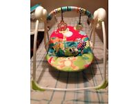 Baby swing bouncer/chair
