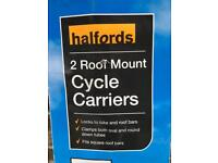 Halfords Cycle Carrier x 2
