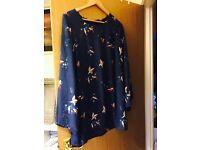 NEW Gorgeous blue bird dress