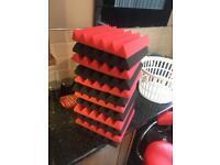 Studio Acoustic tiles/ acoustic foam