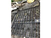 Outdoor Metal Gates