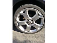 Vauxhall 5x110 19' snowflake alloys x2 sets x8 wheels px welcome