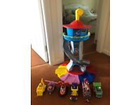 Paw Patrol My Size Look Out Tower, Pups & Cars