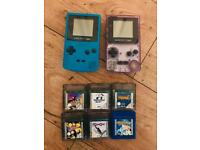 Nintendo Gameboy Colours With Games Zelda Pokemon and much more 2 x Gameboy Consoles