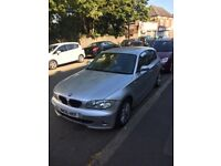 Bmw 1 series silver with 2 keys 87000 miles. MOT until 2019. New brakes with all service history