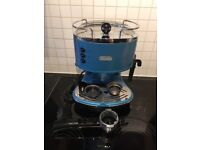 Blue delonghi pump espresso coffee machine