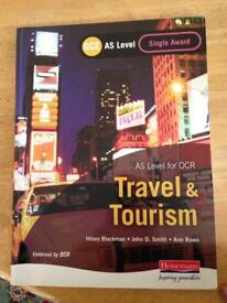 AS level OCR Travel and tourism