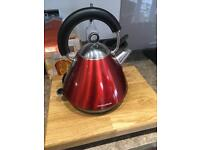 Morphy Richards Accents Pyramid Kettle (Red)