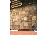 Natural Sandstone Patio Paving Slabs 8 square metres