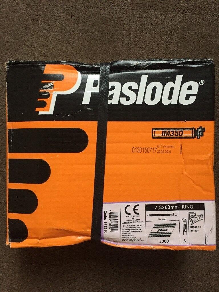 Paslode 1st fix nails