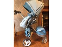 Stokke Xplory v3 full travel system with summer & Winter kit