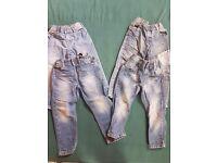 4 pair boys jeans 3-4