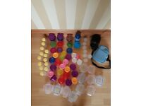 Nuby, boots, tommee tippee, madela feeding pots abd bottle warmer bags for milk twins