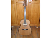 RUSS WOOTTON HAND MADE 12 STRING GUITAR