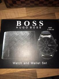 Hugo boss watch and wallet sets £45