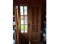 Internal Hardwood Glazed Frencn Doors