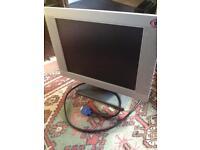 Computer monitor flat screen