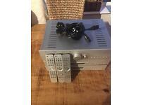 Cambridge audio amp cd tuner separates