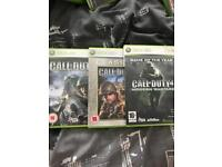 Call of Duty 2, 3 and 4 Bundle (Xbox 360)