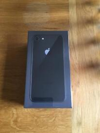 Brand new iPhone 8 64gb Space grey factory unlocked