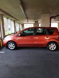 Nissan Note S E. 2007.Automatic. Very low millage ( 26,230 miles) Only £2,750.