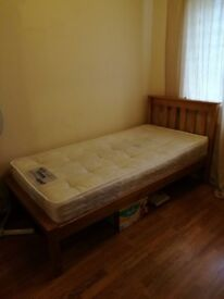 Single Bed Including Mattress Great Price £40