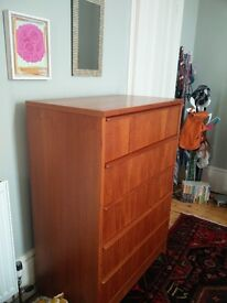 Retro Wardrobe and chest of Drawers