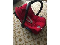 Maxi Cosi Red Cabriofix Car Seat