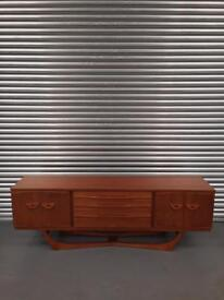 Amazing rare retro Mid Century Modern sideboard. Others available.