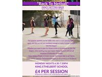 *Back to netball training*
