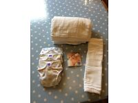 12 brand new Bambino cloth washable reusable nappies