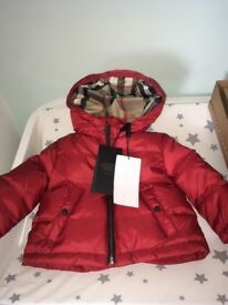 Brand new Burberry jacket perfect Christmas gift