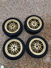 "Enkei RPF1 Wheels 17"" 5x114.3"