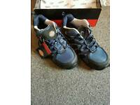 Dickies Tiber steel toe safety trainers UK size 9