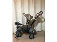 SmarTrike 4 in 1 children bike Explorer Grey tricycle 10-36 months