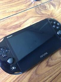 Ps vita with 8gb memory card and Metal Gear solid game