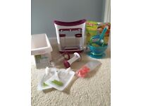 Baby food Squeeze station - infantino