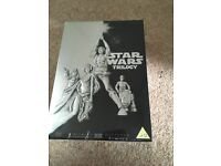 Brand new sealed collectors item Star Wars DVD box set