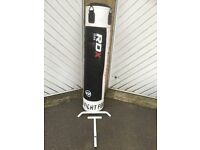 RDX 140cm Punch bag and Bracket