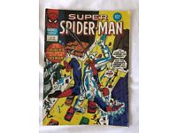 Pack of comics classic vintage Super Spider-Man 33 comics