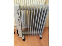 2500w Oil Filled Electric Radiator Digital Display