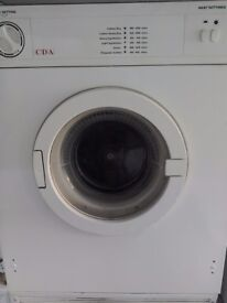 cda {white knight } built in vented dryer 6kg load free local delivery allelectricals