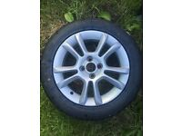 Vauxhall corsa alloy wheel and tyre for sale