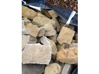 3 Bags of Cotswold building stone